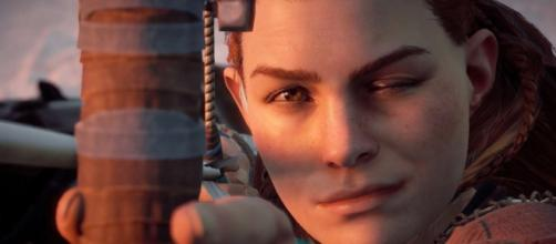 Aloy being amazingly cool. | gamespot.com