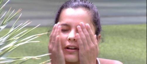 Emilly comentou gravidez e erro irreparável na vida (Foto: TV Globo)