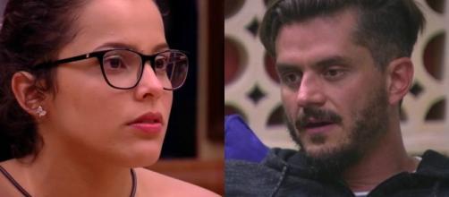 Emily revelou para Marcos que já fez um teste de gravidez durante um relacionamento do passado