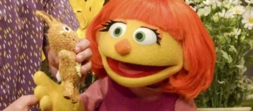 Sesame Street welcomes Julia, a muppet with autism - Photo: Blasting News Library - bbc.com