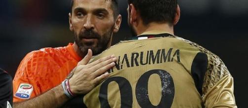 Staffetta alle porte in Nazionale: Buffon-Donnarumma