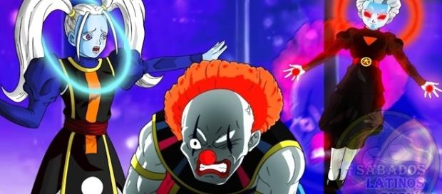 Dragon Ball Super: Dios payaso y Marcarita(Margarita)