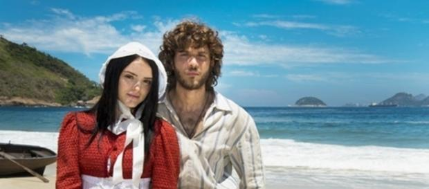 Isabelle Drummond será Anna, e Chay Suede interpretará Joaquim