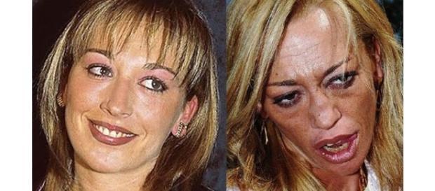 Las dos caras de Belén Esteban.