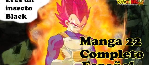Manga 22, Imágenes en español Dragon Ball Super