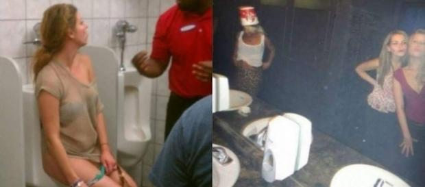 Momentos bizarros ocorridos em banheiros.