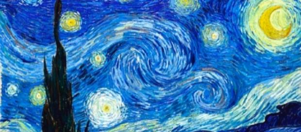''Noite Estrelada'', do pintor Van Gogh, possui representação de complexo conceito científico.