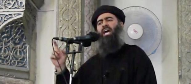 Le chef de l'État islamique, Abu Bakr al-Baghdadi