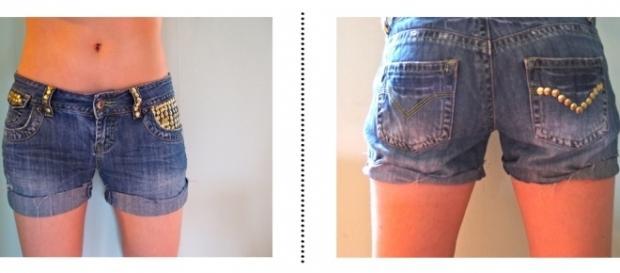 Recicla Inventa: Customizar pantalones vaqueros - reciclainventa.org