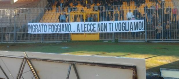 Tanti tifosi all'allenamento del Lecce.