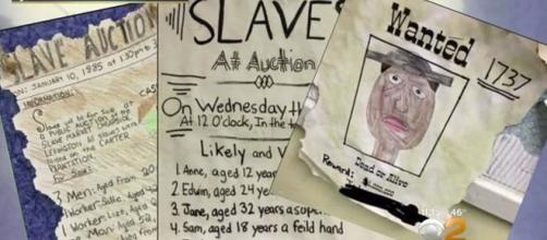 An slave auction was run at a school re Google Advanced Images