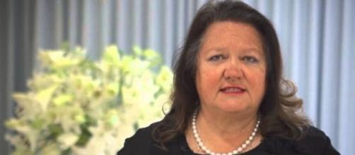 Gina Rinehart is Australia's richest woman again/Photo via Sydney Mining Club, YouTube