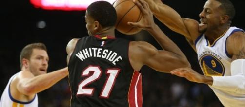 Hassan Whiteside breaks Miami Heat rebounding record - pinterest.com