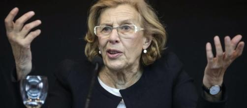Manuela Carmena habla de los okupas de Madrid