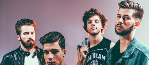 Os Aurora: Tiago, João, Eduardo e David