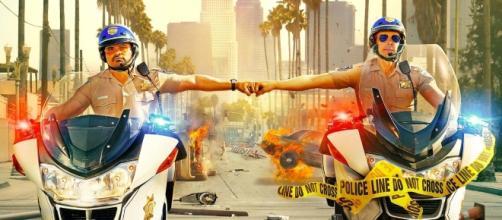 poster e trailer della commedia d'azione con Dax Shepard e Michael ... - movietele.it