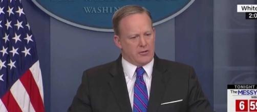 Sean Spicer attacks 'double standard' in response to WikiLeaks ... - usfinancepost.com