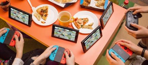 That Friend Makes Plans to Bring Nintendo Switch to Every Party. Photo courtesy of The Nooby Times - noobyt.com