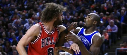 Violence Is Bad, But This Serge Ibaka–Robin Lopez Fight Is Good - theringer.com