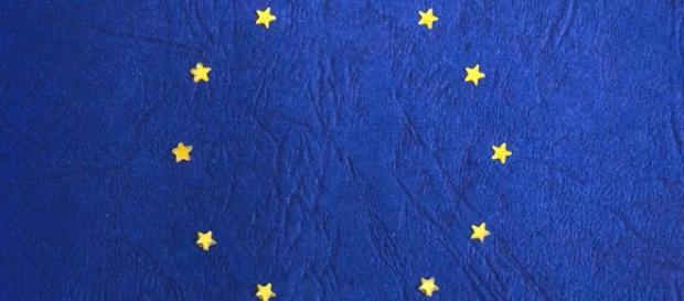Bandeira pertencente ao bloco econômico - União Europeia
