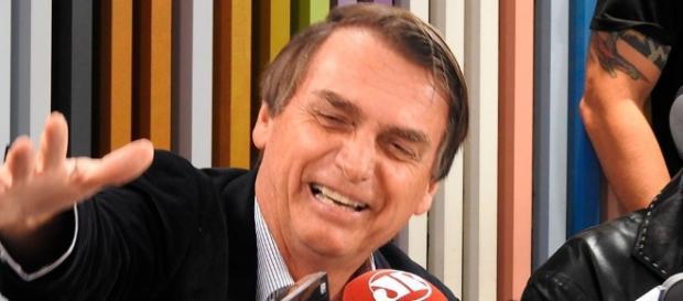 Bolsonaro e Márcio Garcia juntos
