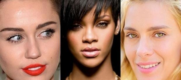 Carol Dieckmann, Rihanna e Miley Cyrus foram só algumas das celebridades que tiveram nudes seus publicados na web