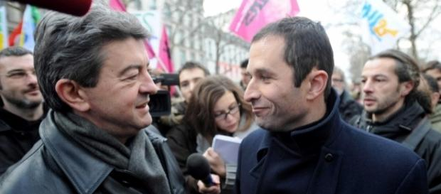 Jean-Luc Mélenchon passe devant Benoît Hamon