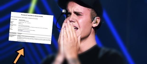 Justin Bieber chora - Imagem/Google