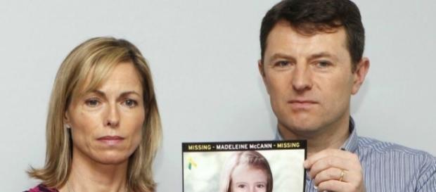 Kate e Gerry McCann procuram pela filha