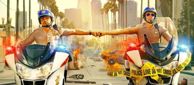 poster e trailer della commedia d'azione con Dax Shepard e Michael ... - movietele.it