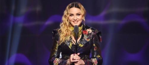 Madonna na cerimônia do Prêmio Mulher do Ano 2016 Billboard