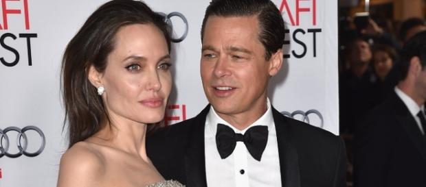 Angelina and Brad Pitt.................sourced via blasting news library