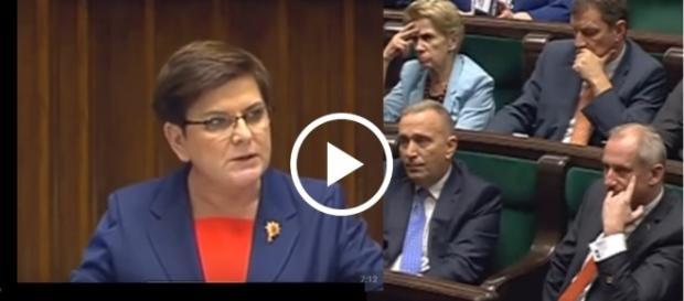 Beata Szydło z mównicy sejmowej mocno uderzyła w opozycję totalną.