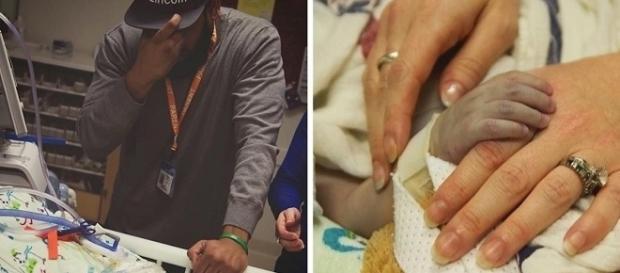 Bebê com doença rara fez com que seus órgãos nascessem do lado contrário.
