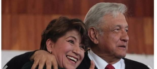 Delfina Gómez quiere gobernar edomex
