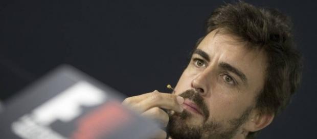 Fernando Alonso en la rueda de prensa del GP de Australia 2017 (Agencia EFE)