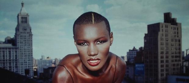 Grace no início de sua carreira na década de 70