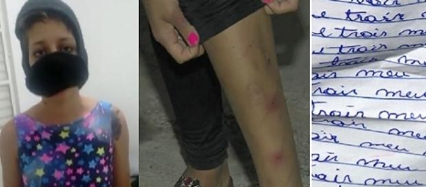 Vítima estava machucada e foi dopada