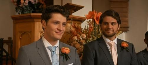 """Brett Dier may return to """"Jane the Virgin"""" season 3 for one final appearance as Michael. (via YouTube/The CW)"""