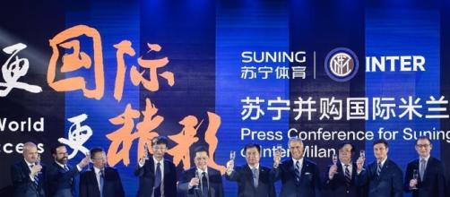 China's Suning takes majority stake in Inter Milan - Xinhua ... - xinhuanet.com