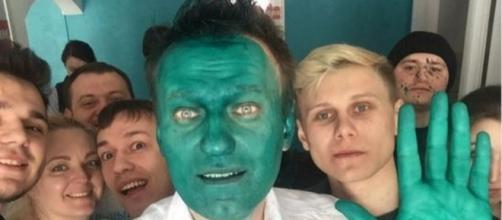 HoyEnLaRed: la oposición rusa se pinta la cara de verde - cuatro.com