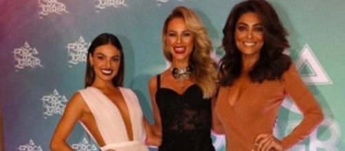 Isis Valverde, Paolla Oliveira e Juliana Paes (da esquerda para a direita)