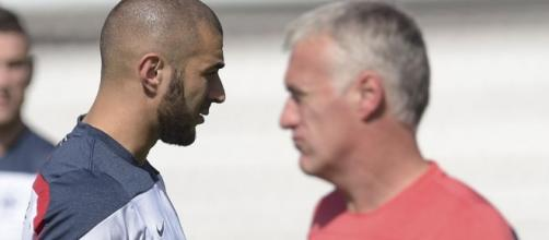 Karim Benzema vs Didier Deschamps