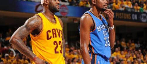 Kevin Durant shares compliment about LeBron... - slamonline.com