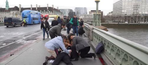 Le immagini dell'attentato di Londra