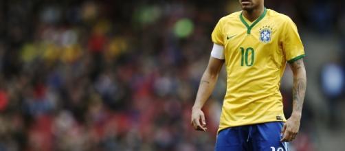 Neymar Jr está en su mejor momento de la temporada y hoy ante Uruguay dio un recital, la canarinha ganó a domicilio 1 a 4