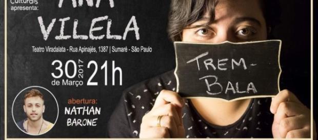 Ana Vilela, do sucesso Trem-Bala, faz show em São Paulo neste mês ... - com.br