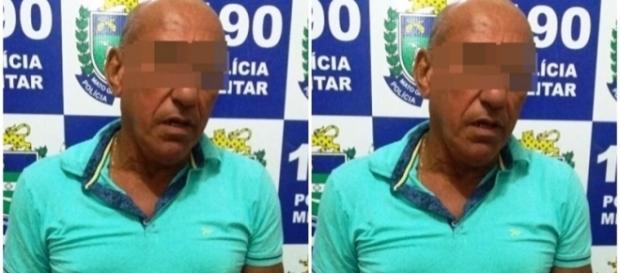 Homem é preso acusado de violência p sexual