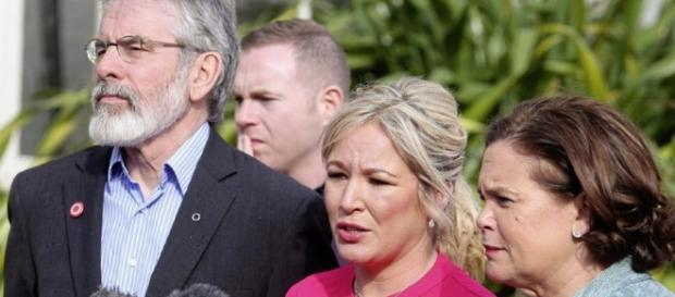 Michelle O'Neill with Sinn Féin leader Gerry Adams - irishnews.com