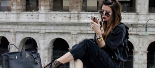 A blogger de moda e estilo 'Zaklina'